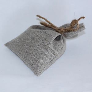 Sachet gris porte savon